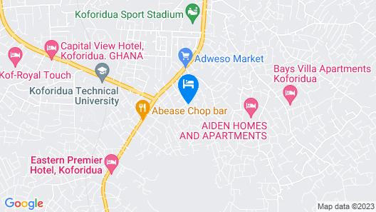 Safegold Hotel Map