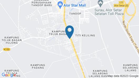 OYO 89976 Fins Hotel Map