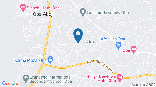 CHIBON HOTEL AND SUITE Map