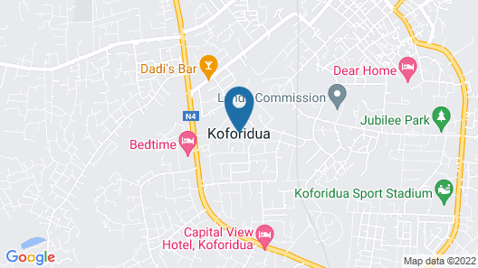 Regiboat Hotel Map