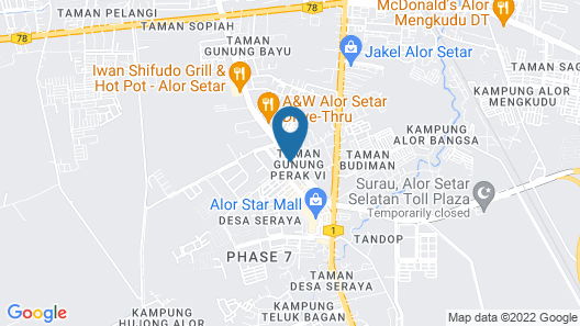 T Hotel Tandop Map