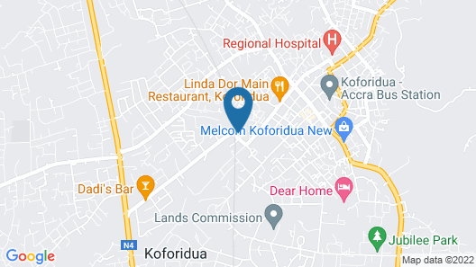 Hotel in the City of Koforidua Map