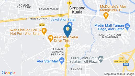 T+ Premium Hotel Map