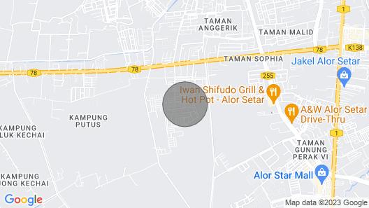Kkp Alor Setar Homestay Map