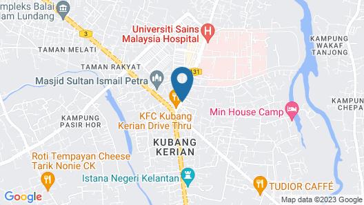 SPOT ON 89755 D&D Budget Inn Map