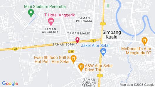 The Leverage Lite Hotel - Kuala Kedah Map