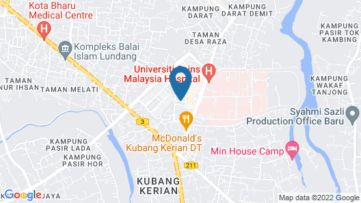 AAM Hotel Map