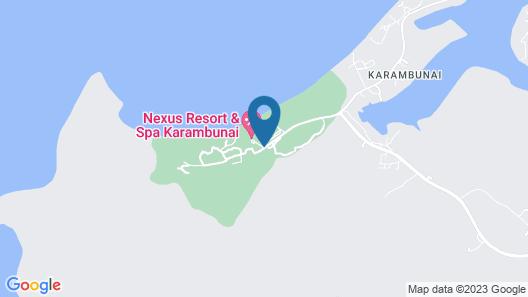 Nexus Resort & Spa Karambunai Map