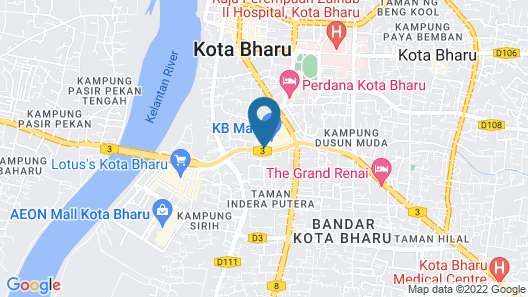 KBCC Service Apartment by iHost Map