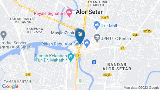 SPOT ON 89828 Hotel Seri Gemilang Map