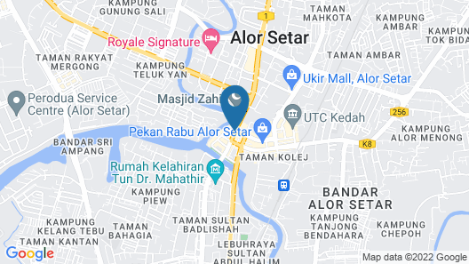Hostel Ah Wai Hostel Ah Zhi Map
