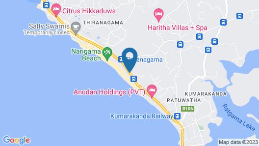 Riff Hikkaduwa Map