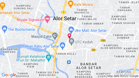 The Jerai Hotel Alor Star (Formerly Known as THE REGENCY ALOR SETAR) Map