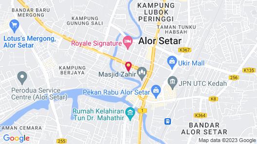 Hotel Grand Crystal Kedah Map