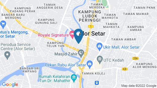 StarCity Hotel Alor Setar Map