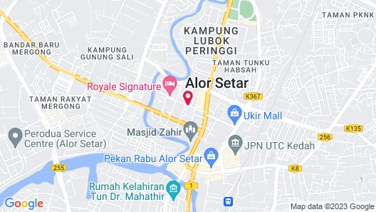 Fuller Hotel Map
