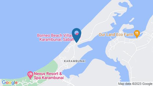 Borneo Beach Villas Map