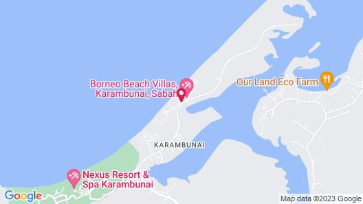 Sabah Beach Villas & Suites Map