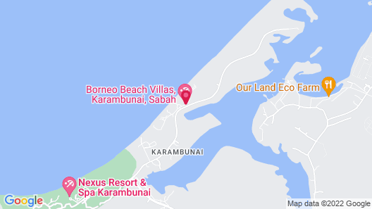 Sunset Seaview Beach Villas & Spa Suites @ Nexus Karambunai Map