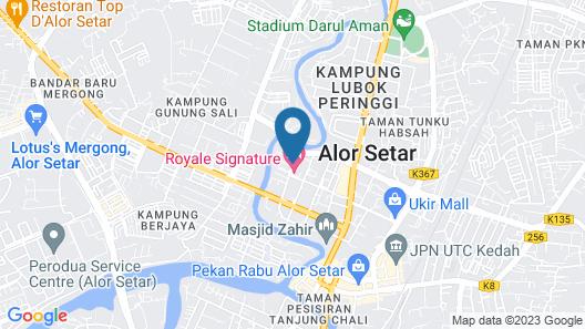 Royale Signature Hotel Map