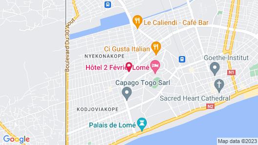 Paradise Hotel Map