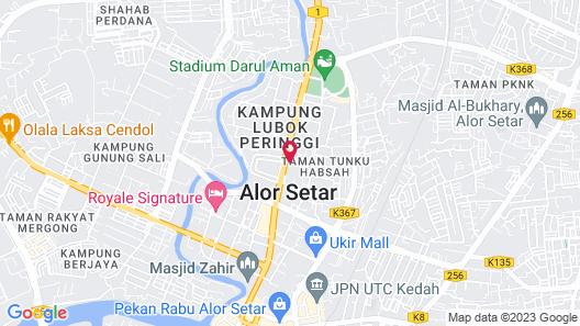 Hotel ASRC Map