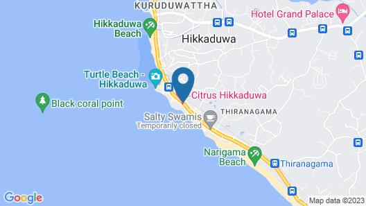 Citrus Hikkaduwa Map