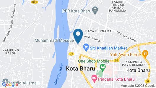 Khalifa Suites Hotel & Apartment Map