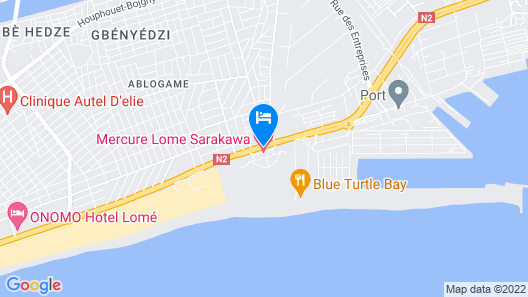 Hotel Sarakawa Map