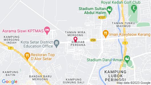 Green Town Hotel & Resort - Alor Setar Map