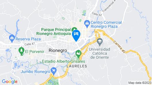 Ayenda 1251 Oasis Map