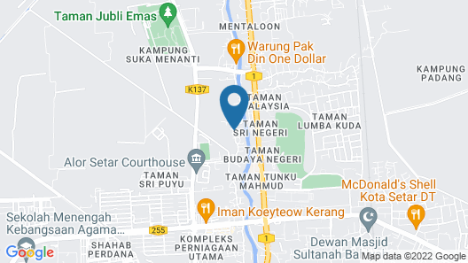 Homestay Dsuka Menanti Map