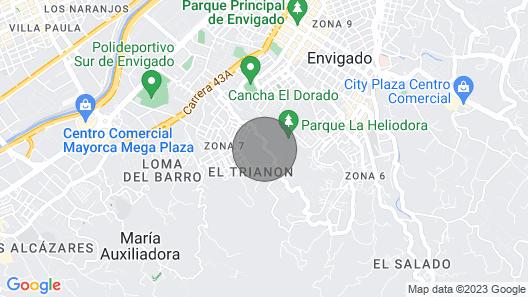 Special Offer Medellín Mansion Luxury Map