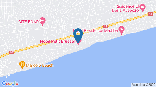 Hotel Le Petit Brussel Map