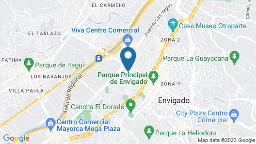 Arame Hotel Map