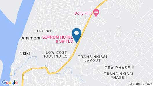 Soprom Hotel & Suites Map