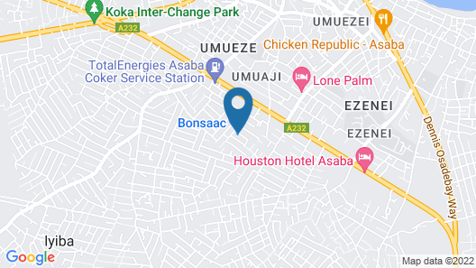 Vision Serviced Apartments Map