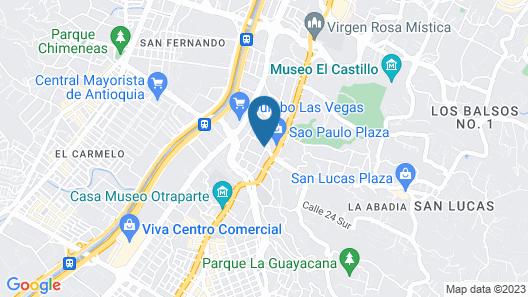 Hotel Casa Zuniga Map