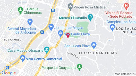 Frontera de Lujo Map