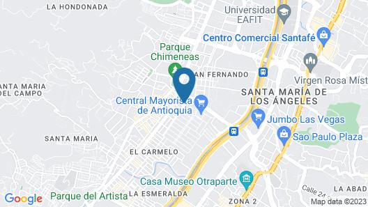 Hotel Alcaravan Map