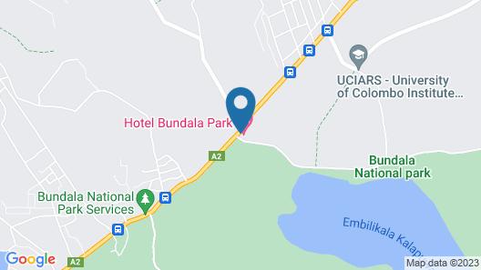 Hotel Bundala Park - Hostel Map