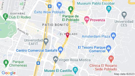 Holiday Inn Express Medellin Map