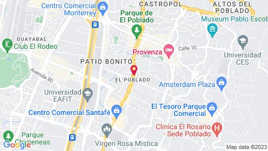 Hotel San Fernando Plaza Map