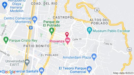 Provenza Lofts Map