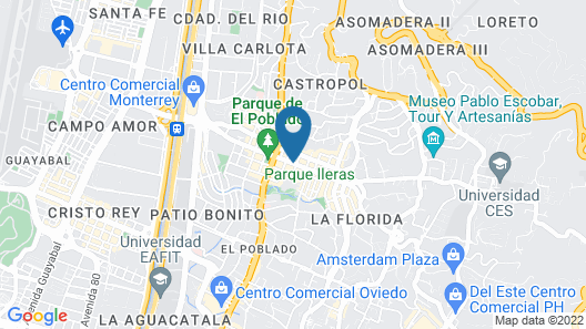 Hotel Dix Map