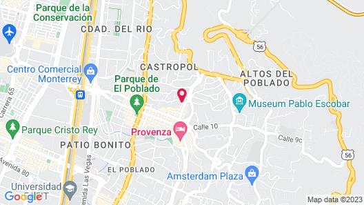 Hotel Park 10 Map