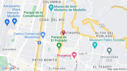 Viaggio Medellín Grand Select Map