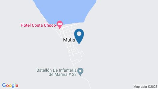 Playa Alegre Map