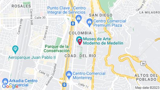 ibis Medellin Map