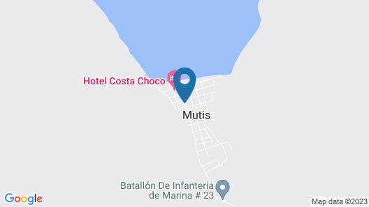 Posada Punta Roca Map